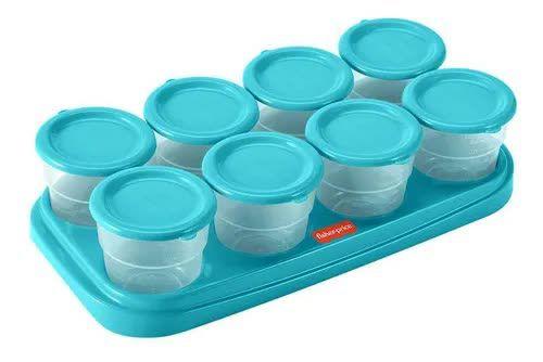 Potes para Congelar Papinha na Bandeja Prep & Fresh Fisher-Price