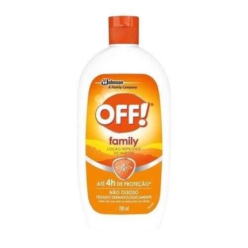 Repelente OFF Family Loçâo 200ml