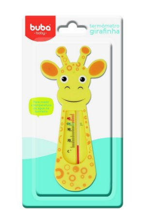 Termômetro de Banho Girafinha - Buba Baby