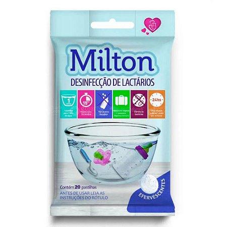 Milton para Desinfecção de Lactários - Cartela com 20 Pastilhas