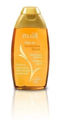 Óleo Hidratante Amêndoas Doce 100ml Muriel