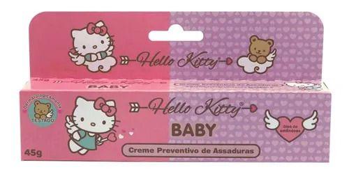 Creme Preventivo de Assaduras Hello Kitty 45g