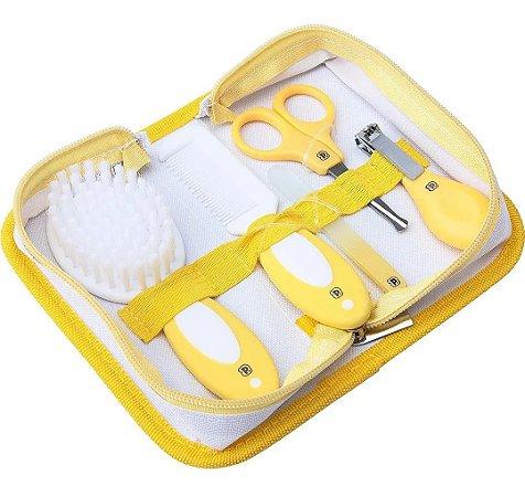 Kit Cuidados para o Bebê Pimpolho Amarelo
