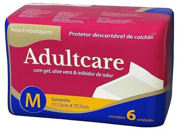 LENÇOL DESCARTÁVEL ADULTCARE MÉDIO c/24