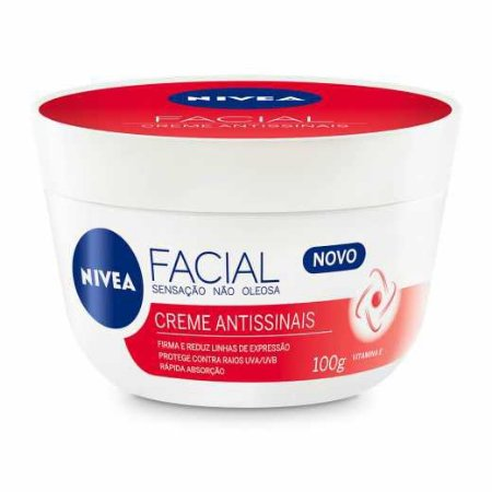 CREME FACIAL ANTISSINAIS - NIVEA