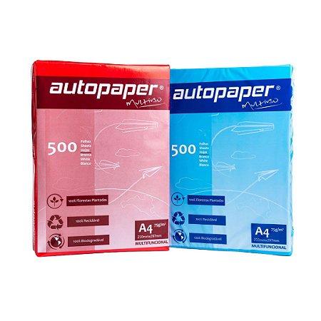Papel Sulfite A4 - Caixa com 10 Resmas