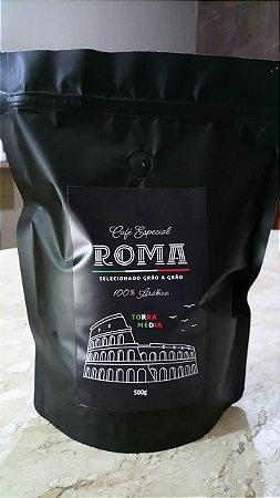 Café Roma 100% arábica 500g Torrado e Moído