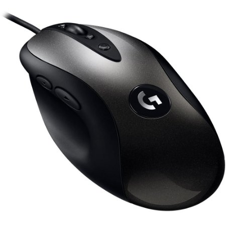 Mouse Gamer Logitech MX518 Hero, 8 botões, 16000 DPI - 910-005543