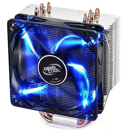 Cooler para Processador DeepCool GAMMAXX 400 Blue Led Light - DP-MCH4-GMX400