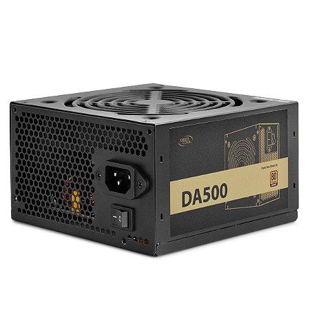 Fonte Deepcool 500W 80 Plus Bronze - DA500