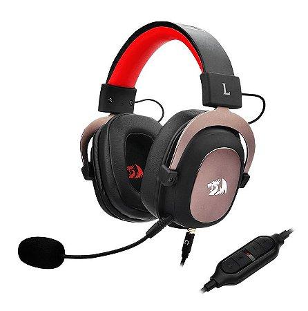 Headset Gamer Redragon Zeus 2, 7.1 - H510-1