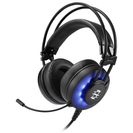 Headset Gamer Sharkoon Skiller, USB - SGH2