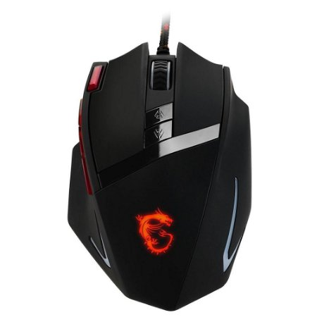 Mouse Gamer MSI Interceptor, RGB, 8200DPI - DS200
