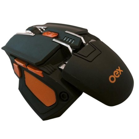 Mouse Gamer OEX Cyber, LED, 5200 DPI - MS306