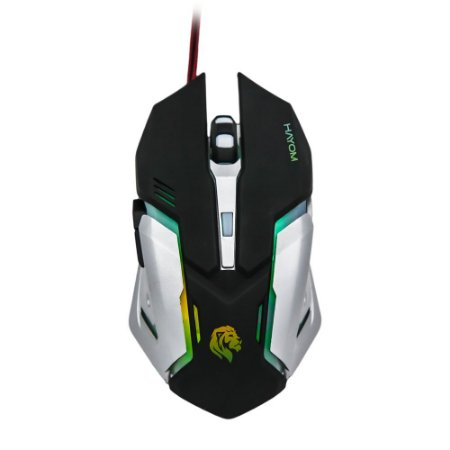 Mouse Gamer Hayom, LED - MU2906