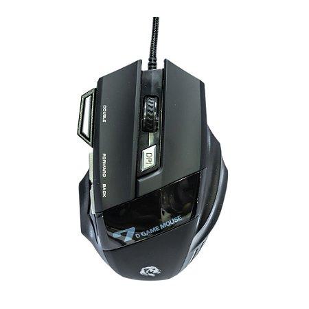 Mouse Gamer Hayom, LED, 3200 DPI - MU2909