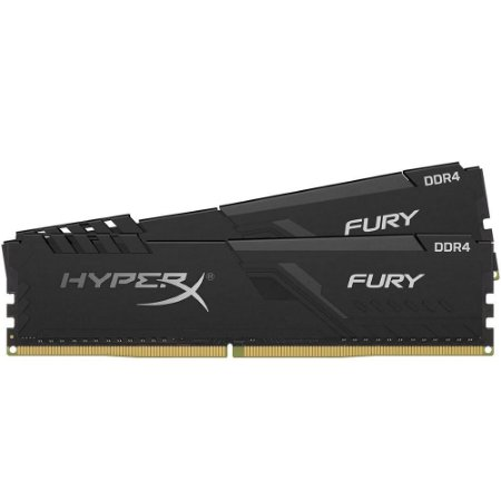 Memória HyperX Fury, 8GB (2x4GB), 2666MHz, DDR4 - HX426C16FB3K2/8