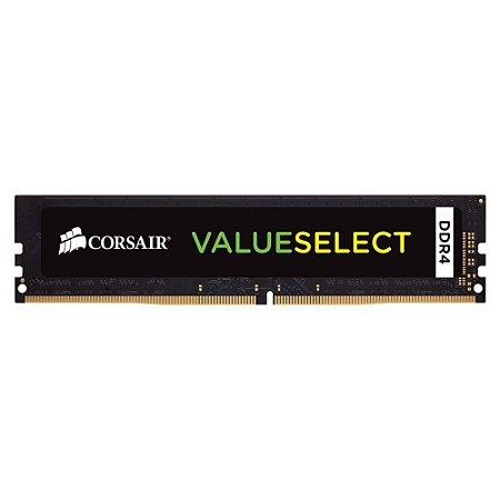 Memória Corsair Value Select 8GB, 2133MHz, DDR4 - CMV8GX4M1A2133C15
