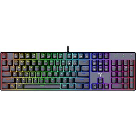 Teclado Mecânico Gamer T-Dagger Frigate RGB - T-TGK306