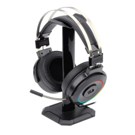 Headset Gamer Redragon Lamia 2, RGB, C/Suporte - H320RGB-1