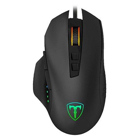 Mouse Gamer T-Dagger Warrant Officer, RGB, 4800 DPI - T-TGM203