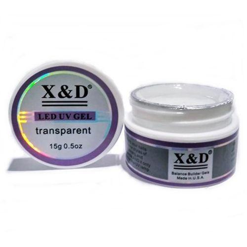 GEL X&D LED UV TRANSPARENTE 15GR