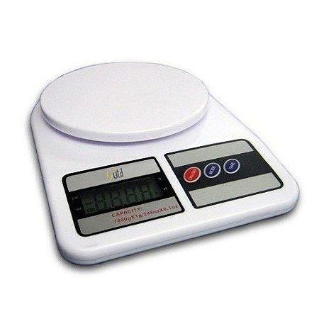 Balança Digital Portátil para Cozinha 1g à 10kg  Alta Precisão - 123 Util
