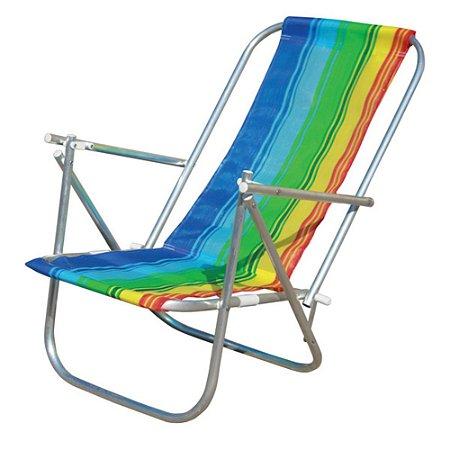 Cadeira de praia dobrável em 2 posições