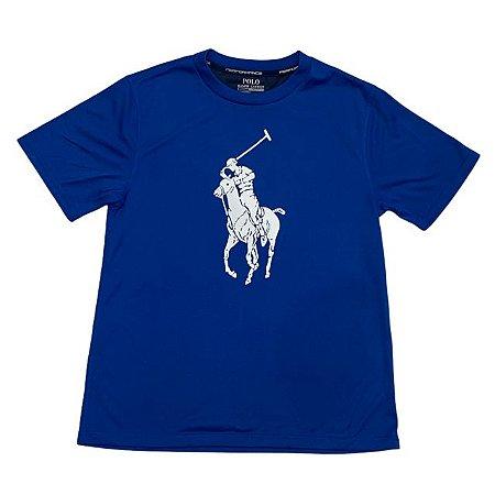 RALPH LAUREN camiseta royal Jersey 10-12 anos