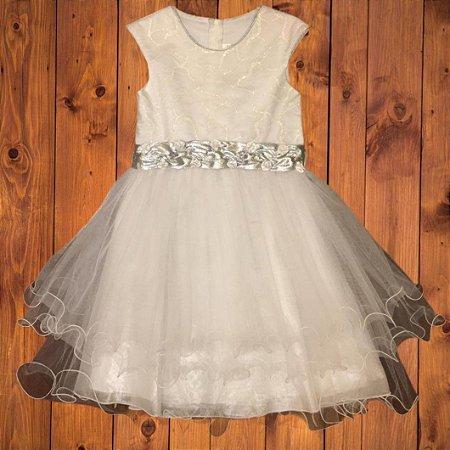 EL CORTE INGLÊS vestido tule branco 8 anos