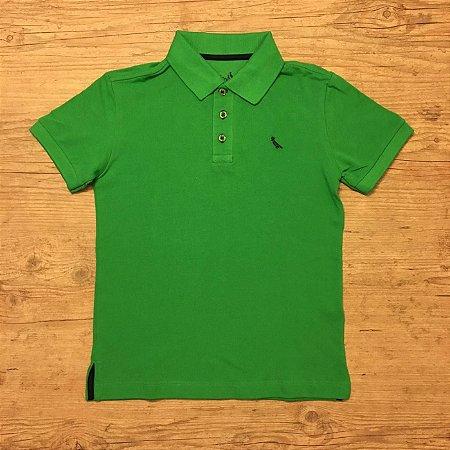 RESERVA MINI camisa polo verde 8 anos