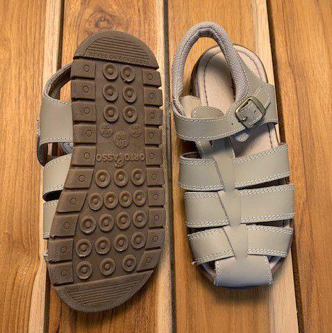 LUDIQUE ET BADIN sandália de couro bege masculino BRA 30