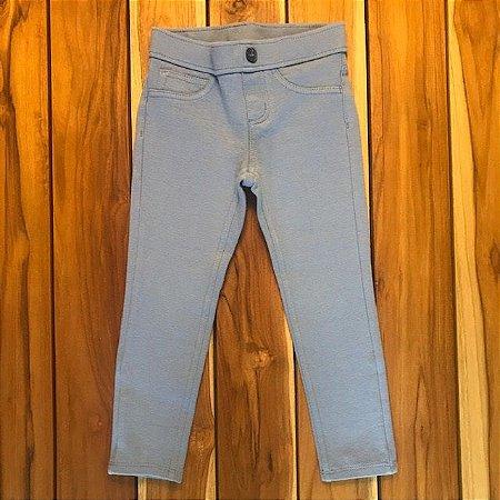GYMBOREE calça legging azul 5 pockets 4 anos