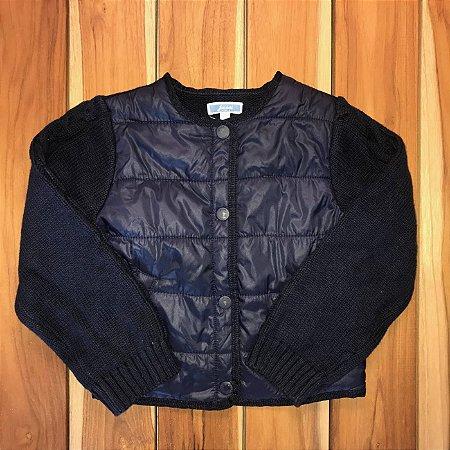 JACADI casaco nylon e lã 4 anos