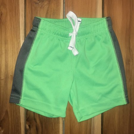 CARTERS short gym verde 12 meses