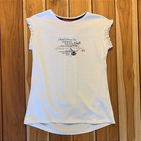 LION OF PORCHES camiseta branca 7-8 anos