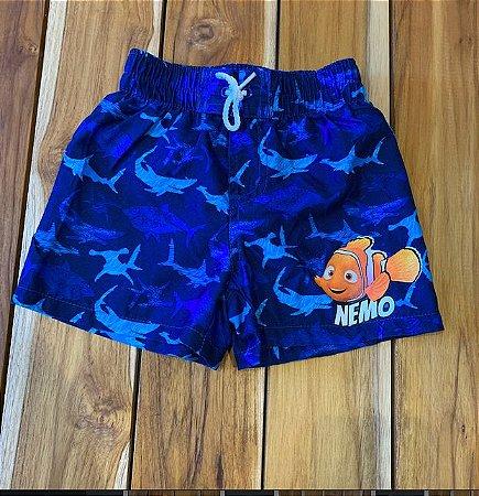 DISNEY short praia Nemo 12 meses