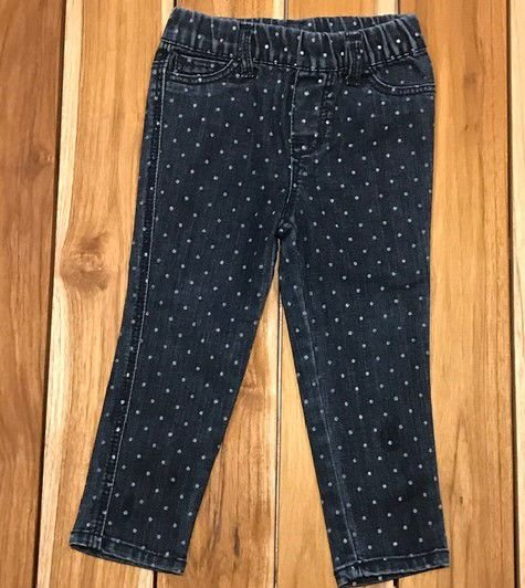 CHEROKEE calca jeans bolinhas 2 anos