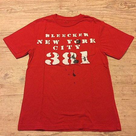 RALPH LAUREN camiseta vermelha estampa 381 c bolso 8 anos