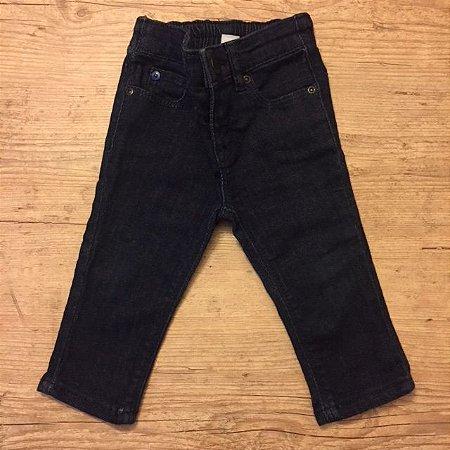 BABY GAP calça jeans escuro 6-12 meses