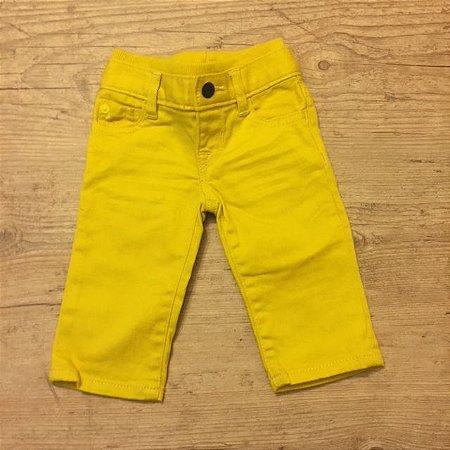 BABY GAP calça amarela 0-3 meses