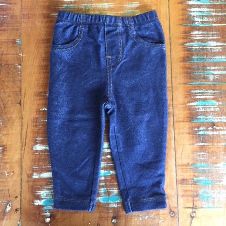 CARTERS legging jeans 6 meses