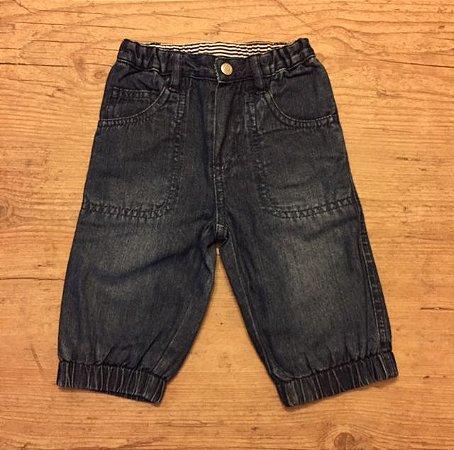 PETIT BATEAU calça jeans 6 meses