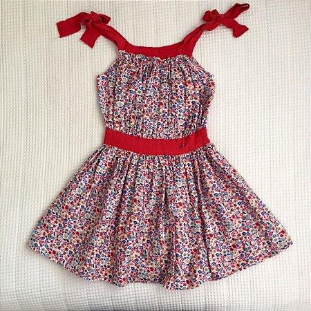 CAROLINA HERRERA vestido florido de alcinha 3 anos