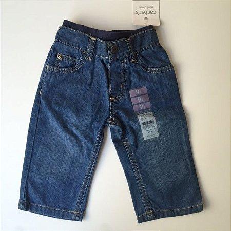 CARTERS calça jeans com etiqueta 9 meses