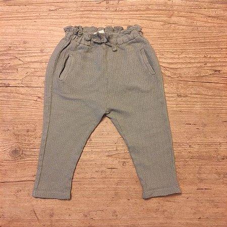 ZARA calça de malha cinza 9-12 meses