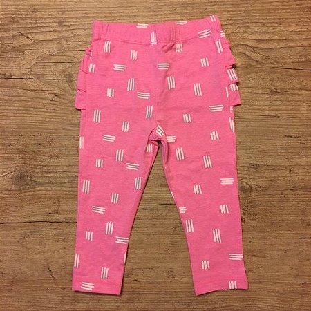CAT AND GIRL legging rosa babados 12 meses 39,00