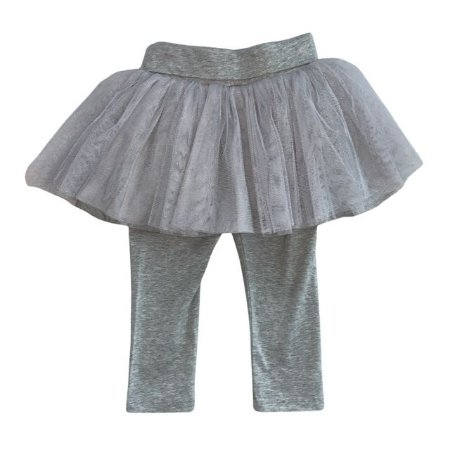 BABY GAP legging cinza c saia de tule 18-24 meses NOVO