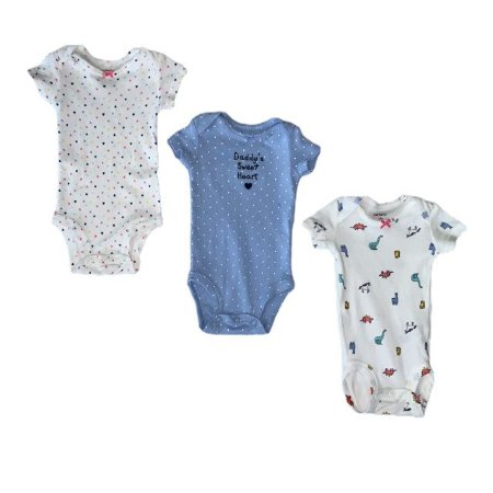 CARTERS kit 3 body dadys sweet NB