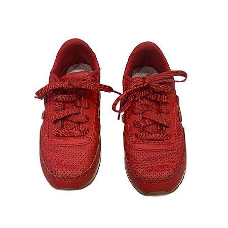 NEW BALANCE tênis couro vermelho USA 13 BRA 30